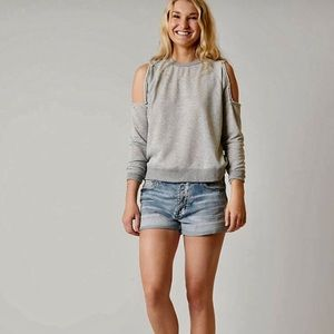 [Gilded Intent][The Buckle] Distressed Sweatshirt